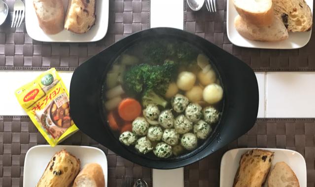 マギーブイヨンで作る洋風カレー鍋♪