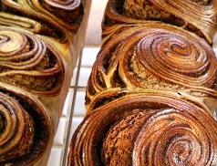 12月16日酵母基礎・体験レッスン(しましまパン・ラムレーズンのころころパン)