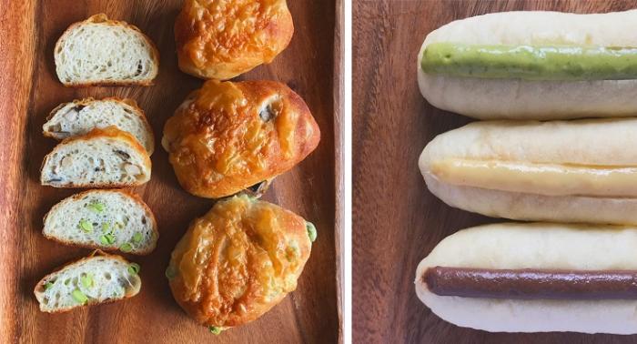 9月、10月応用レッスン(お野菜とチーズのパン&クリームパン)