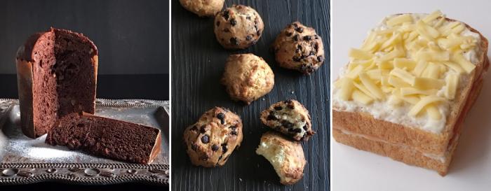 1月、2月応用レッスン(ショコラパネトーネ&酵母クッキー)