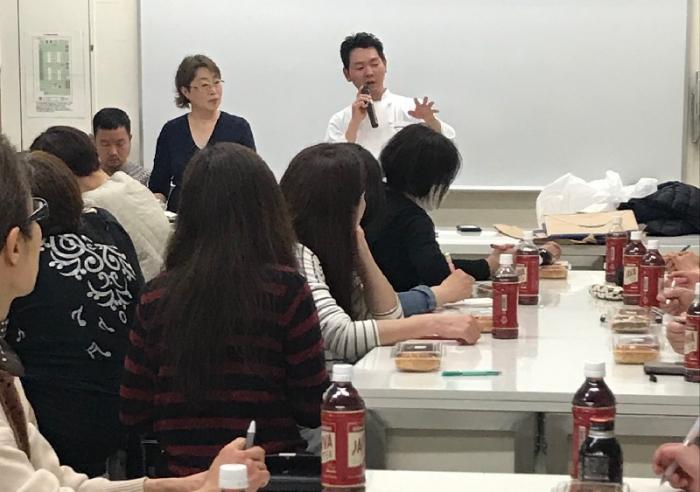 Boulangerie Parigot(ブーランジェリー パリゴ)安倍 竜三シェフによる座学講座開催しました!