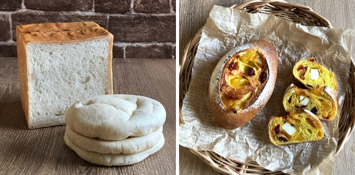 7月、8月応用レッスン(胚芽食パンとピタ&夏のメランジェ)