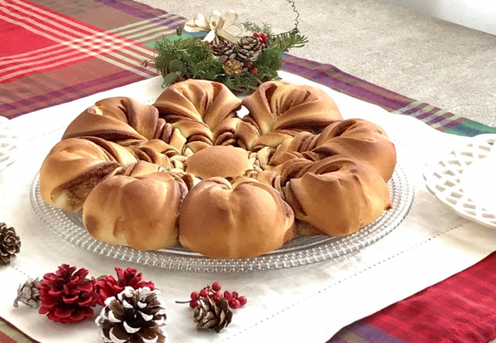 クリスマスにこんなパン作りはいかがですか?