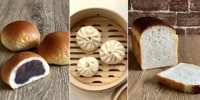 2020年3月、4月応用レッスン1(玄米食パン、あんぱん)