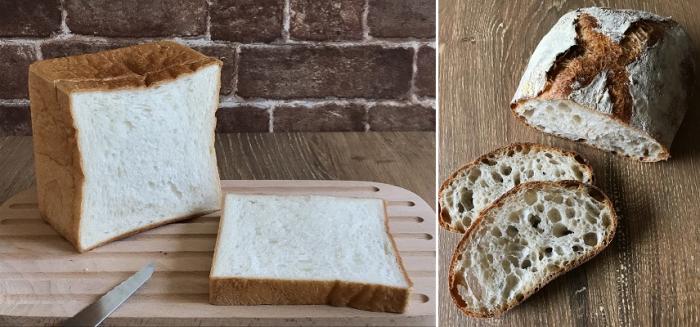 2020年6月、7月応用レッスン2(カンパーニュ&中種法食パン)