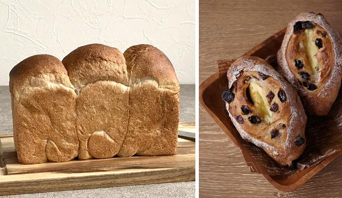 2021年3月、4月応用レッスン(食パン、ハニーチーズのメランジェ)