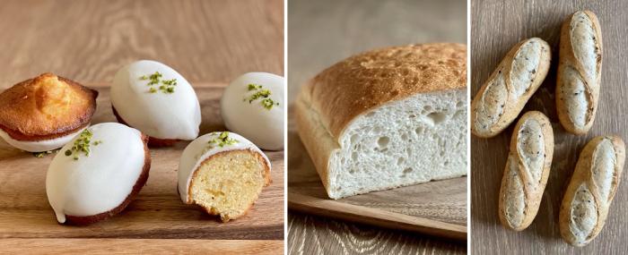 2021年6月、7月応用レッスン(レモンケーキ、ゴマのフィセル、ポテトパン)